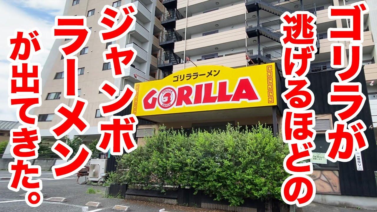 【デカ盛り】ゴリラが逃げるほどの【ジャンボラーメン】を注文したら、ヤバいの出てきた。