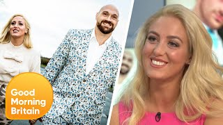 Tyson Fury's Wife Struggles to Watch the Boxer Fight | Good Morning Britain