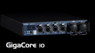GigaCore 10 - AV تبديل الشبكة من قبل Luminex شبكة الاستخبارات