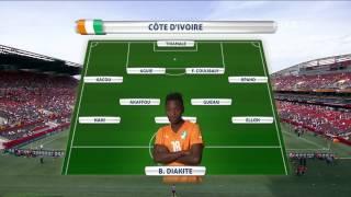 Germany v. Côte d'Ivoire - Team Lineups EXCLUSIVE