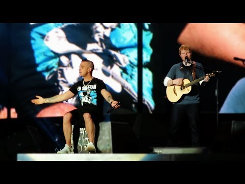 Robbie Williams & Ed Sheeran - Angels | #1 Amsterdam 2018