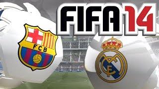 FIFA 14 Gameplay - Barcelona vs Real Madrid (720p pc gameplay)