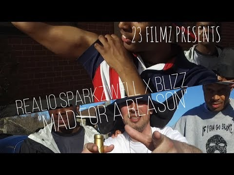 """Realio Sparkzwell X Blizz - """"Mad For A Reason"""" (Official Video) Shot By 23 FILMZ"""