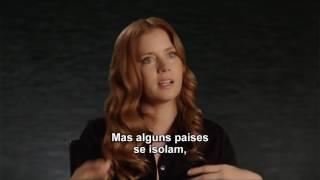 "A Chegada - Featurette ""Amy Adams"" HD Legendado"