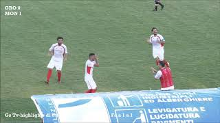 Eccellenza Girone A Grosseto-Montignoso 1-1 (GS TV)