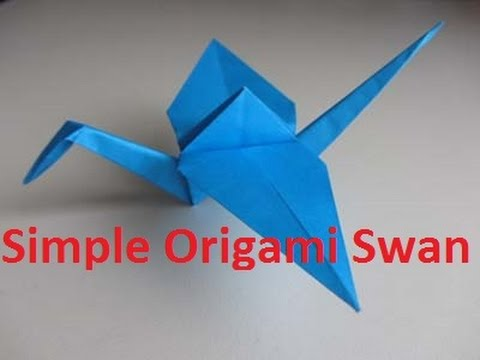 How To Make Origami Swan Crane Swan Crane Craft Paper Swan Crane
