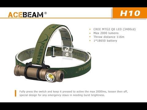 2000 Wizard LumensVs Acebeam H10 Armytek CBoedx
