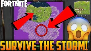 BE IN THE STORM AND NOT DIE - Fortnite Battle Royale