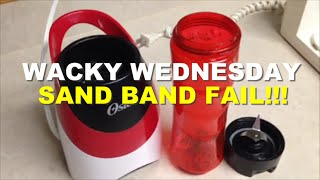 Wacky Wednesday - Sand Band Fail Funny Rainbow Loom Band Tutorials By Crafty Ladybug /how To Diy
