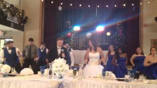 Bridal Party Dance Off