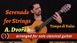 """Our next release is an arrangement of dvorak's """"tempo di valse"""" from one his most popular and charming orchestral works, serenade for strings.the unusual ..."""