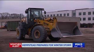 Long Island prepares for winter storm