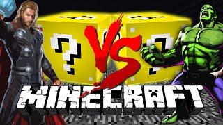 Minecraft: LUCKY BLOCK CHALLENGE | SUPER HEROES