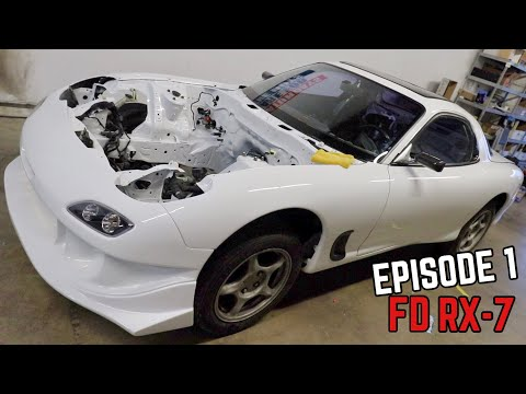 FD RX7 Assembly!  Starting from scratch