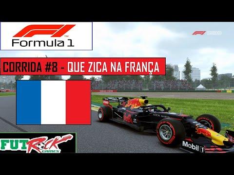 F1 - GP DA FRANÇA - UMA CORRIDA ZICADA - 동영상