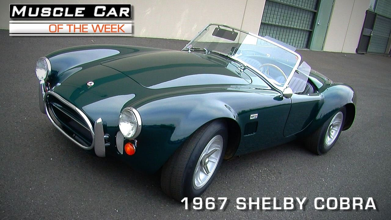 Muscle car of the week video 81 1967 shelby cobra youtube