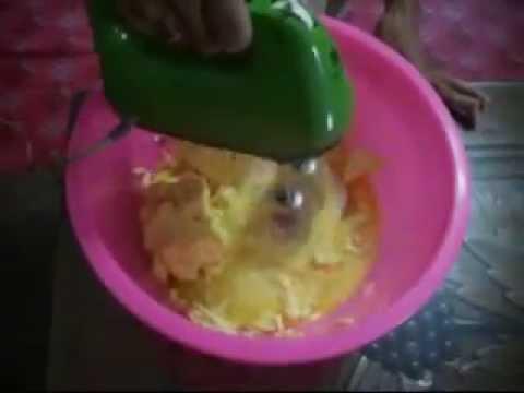 Panduan Membuat Kek Kukus Buah Gula Hangus Preview By