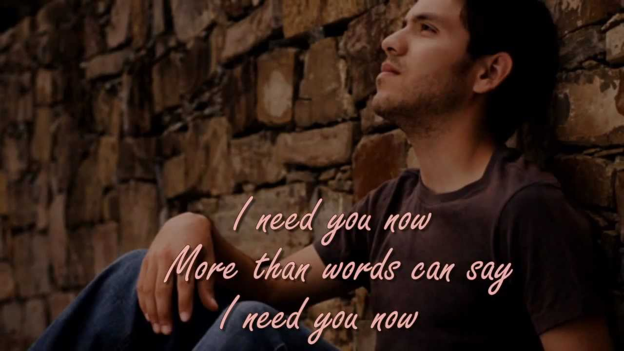 More Than Words Can Say By Alias With Lyrics