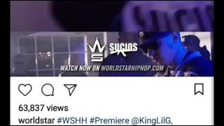 CAPONEE GIVING LOVE TO KING LIL G