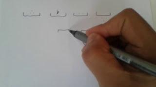 Learning Urdu script