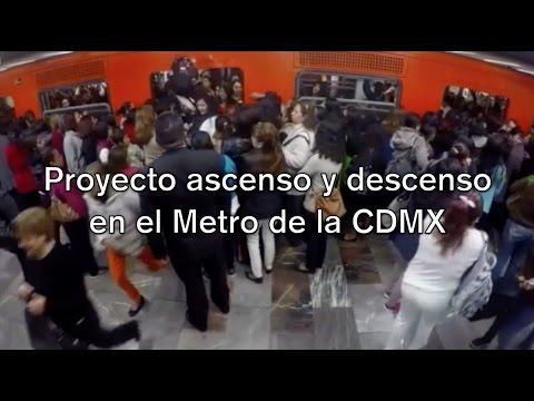 Proyecto ascenso y descenso en el Metro de la CDMX - UNAM Global