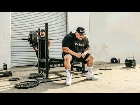 Bench Press  2 Weeks Out From The Biggest Competition Of