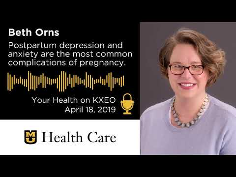 The Postpartum Depression or Anxiety Support Group (Beth Orns)