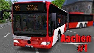 OMSI 2: Aachen mit dem MB O530GL #1: Mit Überlänge durch die Kaiserstadt!