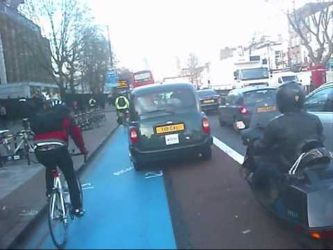 Stepney Green To Aldgate East With A Bike Jam At Whitechapel