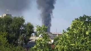 Пожар в районе ж.д. вокзала Днепропетровска(, 2014-08-15T13:04:14.000Z)