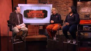 Karina Scott and Connie Clark visit Longhorn Weekly [May 21, 2013]