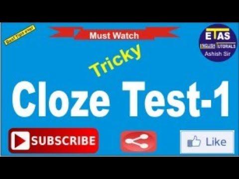 Tricky Cloze Test -1