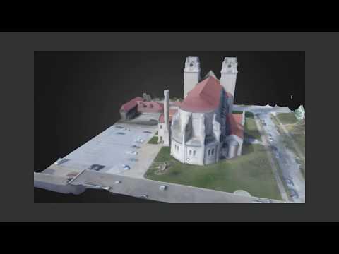 St. Cecilia's Cathedral - 3D Model | Infinite 8 Aeronautics