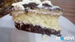 """ТОРТ """"ЗОЛОТОЙ КЛЮЧИК"""". Очень вкусный шоколадно бисквитный торт!  Простой рецепт."""
