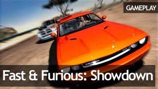 Fast & Furious: Showdown - Gameplay