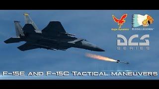F-15E and F-15C Tactical maneuvers
