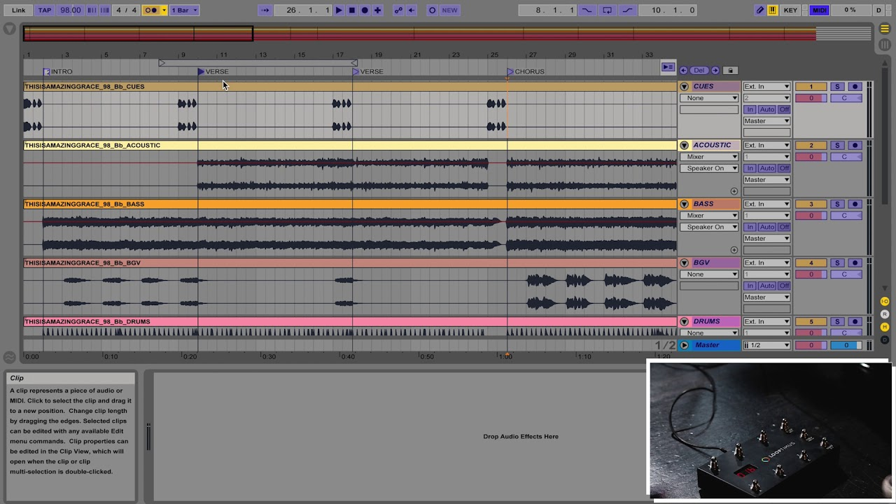 ableton master class midi mapping arrangement view youtube. Black Bedroom Furniture Sets. Home Design Ideas