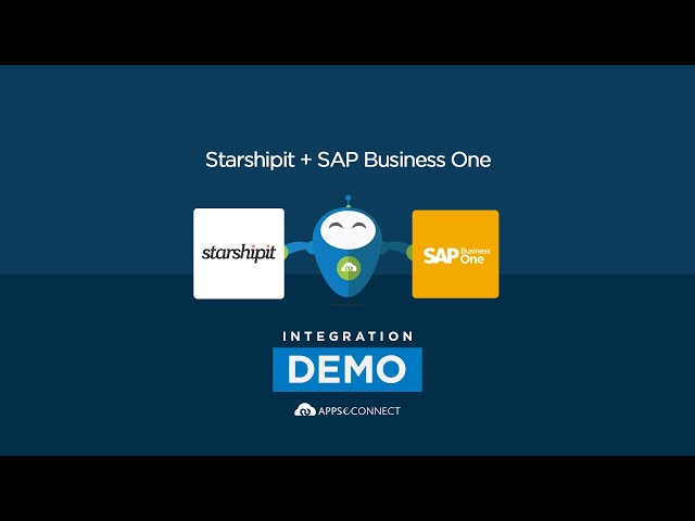 SAP Business One and StarShipIT Integration | APPSeCONNECT