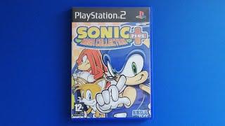 Pequeño gameplay de Sonic Mega Collection Plus para PS2 ¡¡SONIC MANIA!!