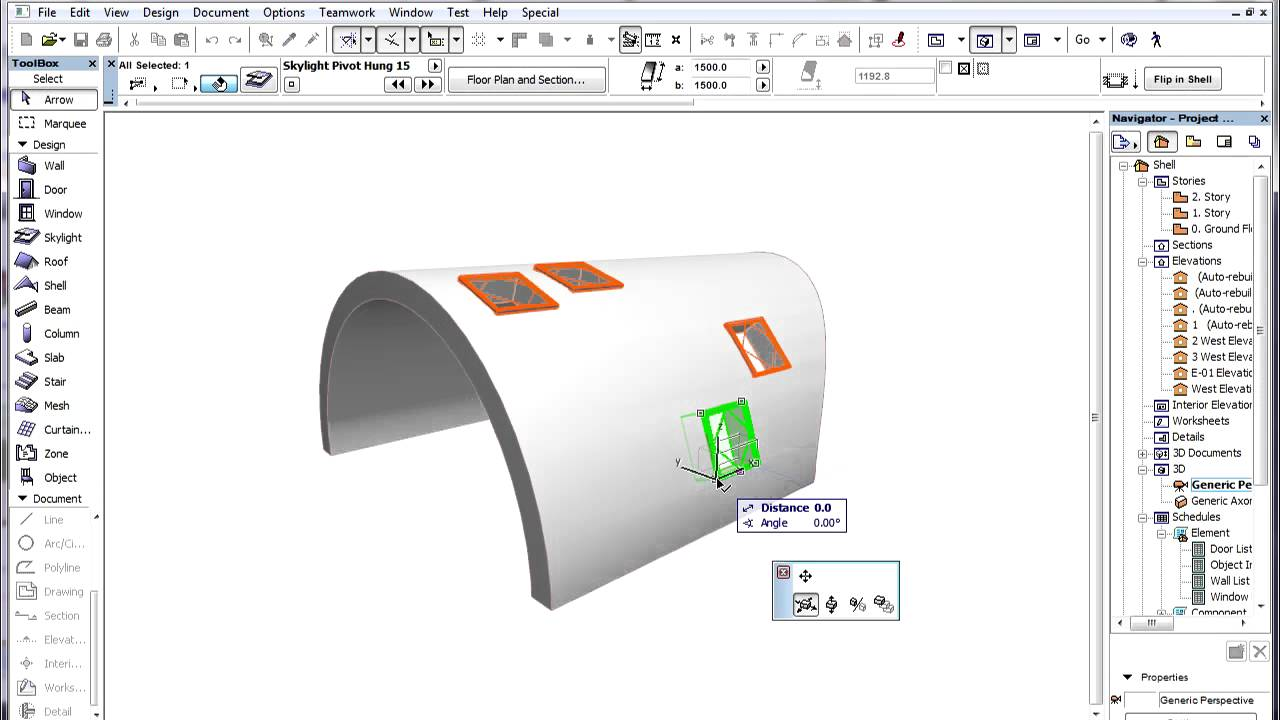 how to add more to a slab in archicad