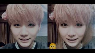 BTS turned into Female by FaceApp | Elena Biased