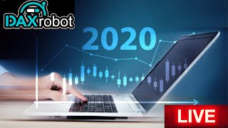 Dax Robot Performance 2020 Live Trading Session With Rising East Robot