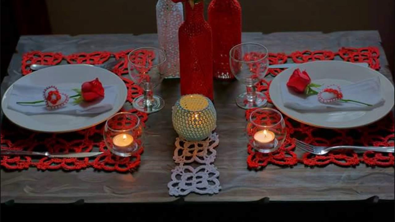 Decoración de mesa para San Valentin - YouTube