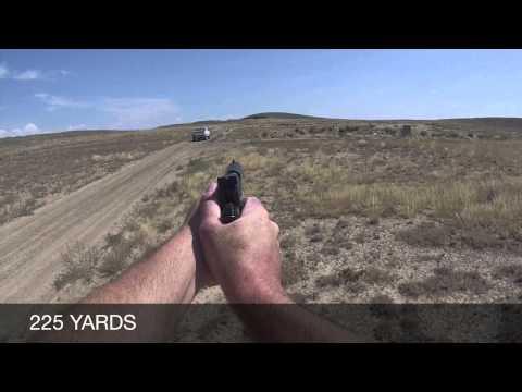 Long range handgun shooting with the Spingfield Range Officer 1911 9mm- 300 yards