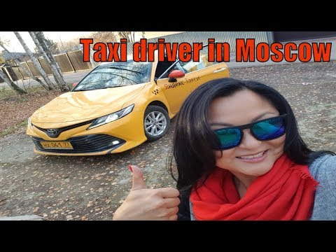 I am a girl taxi driver from Moscow