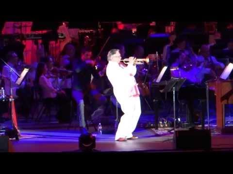 Josh Groban UN ALMA MAS  with Arturo Sandoval Hollywood Bowl July 3, 2013