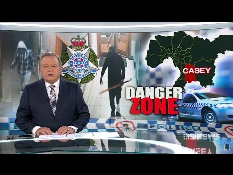 Nine News. Hotbed Home Invasion Stats.(Multicultural Nightmare Melbourne)