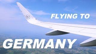 FLYING TO GERMANY | TRAVEL VLOG #1