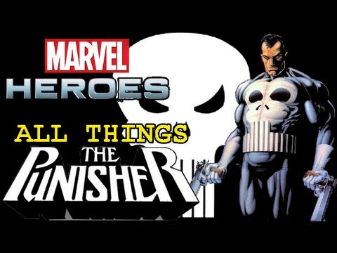 Marvel Heroes: All things Punisher - Powers, Skills, Ultimate Power, Costumes, abilities