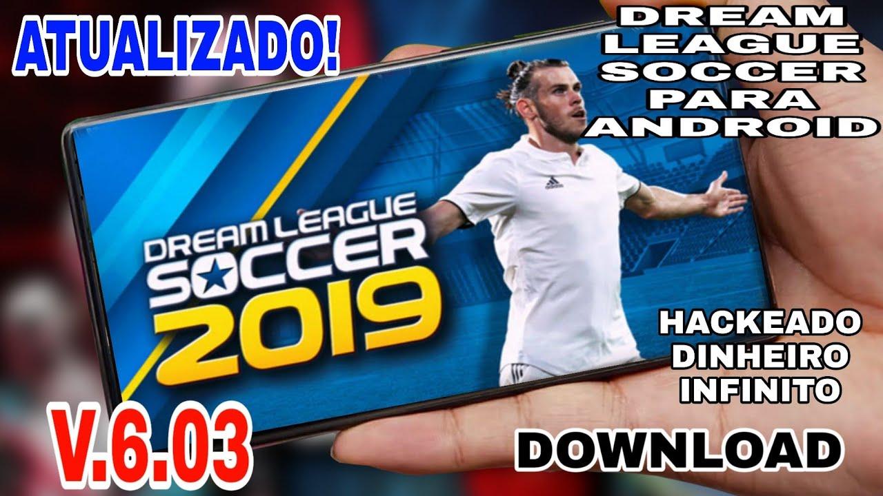 dream league soccer 2019 mod apk v6.04 (dinheiro infinito)